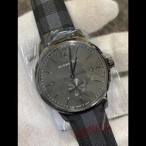 NIB Black Burberry Watch